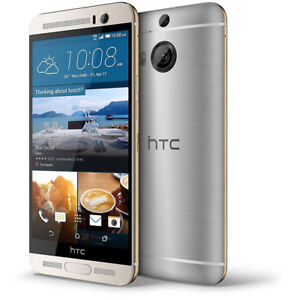 """Unlocked HTC One M9+ Plus LTE 5.2"""" 32GB 4G Android Smartphone Silver"""