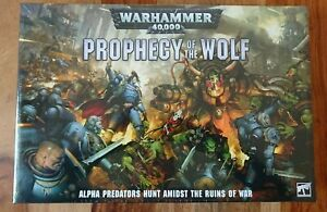 Games Workshop Warhammer 40k PW-60 Prophecy of the Wolf NEW/SEALED