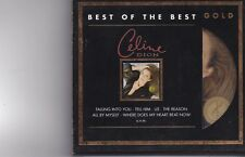 Celine Dion-Best Of The Best Gold cd album  golden cd