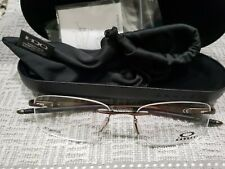 OAKLEY Titanium WINGFOLD EVR OX5118-0153 Eyeglass frames Satin Pewter 53 18 139
