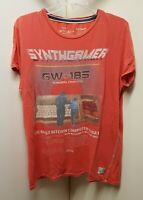 MEN`S VINTAGE JACK&JONES  T-SHIRT SIZE MEDIUM RED