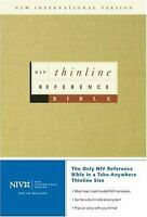 NIV Thinline Reference Bible Hardcover Zondervan Publishing