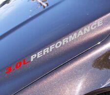 3.0 L PERFORMANCE sticker kit For V6 Chrysler voyager minivan 300c srt kit body