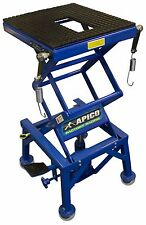 APICO motocross motorcycle workshop hydraulic scissor lift stand WITH WHEELS