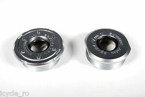 Vintage Shimano BB-M730 Deore XT Bicycle Bottom Bracket Cup Set Left Right NOS