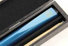 BCE METALLIC BLUE 2pc Ash Pool Snooker Cue & HARD CASE - 9.5mm Tip