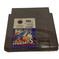 Superman NES (Nintendo Entertainment System) SUPER MAN NES Cart Tested Works