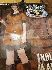 SMIFFYS Indian Maiden COSTUME(Fancy Dress - Size S 8-10