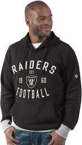 G-III Sports Las Vegas Raiders Men's Prestige Pullover Hoody Sweatshirt