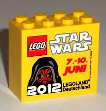 LEGO Legoland Star Wars 2012 Darth Maul collectors promo brick block special NEW