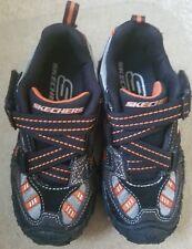 Skechers Little / Big Kid Gripperz Super Z Sneaker BKCH Kids 10.5