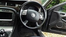 Jaguar X type genuine facelift steering wheel in Black removed from July 09 (W)