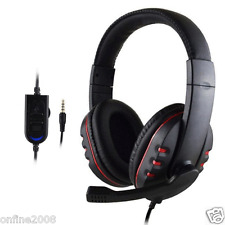 3.5mm Stereo HiFi Music Gaming Headset Headband Headphone With Mic for PS4 PC US