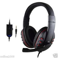 3.5mm Stereo HiFi Music Gaming Headset Headband Headphone With Mic for PS4 PC