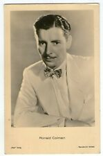 Ronald Colman vint gentleman ross verlag Photo Postcard