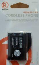 RadioShack 2302340 650mAh 3.6V Ni-MH Cordless Phone Battery for AT&T VTech