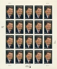 US: 2005 RONALD REAGAN; Sc 3897; Sheet of 20, 37 Cents Values
