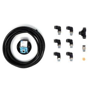 MAC boost control Solenoid & push lock kit 35A-AAA-DDBA-1BA for turbo vehicles