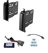 Double Din Car Radio Dash Kit Combo for 11-13 Dodge Durango Jeep Grand Cherokee