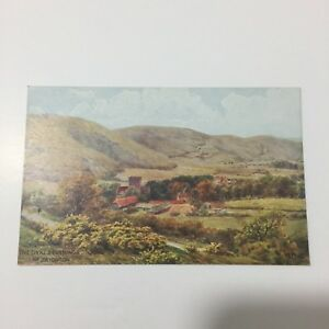 The Dyke & Poynings Brighton Postcard Unposted Water Colour