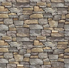 ! 8 SHEETS PAPER STONE wall 1/6 scale  EMBOSSED BUMPY code 3d14D333