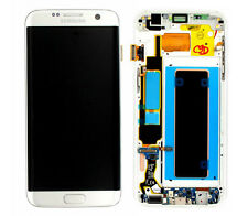 Original Samsung Galaxy S7 Edge G935F LCD Display Touchscreen Touch Glas Silber