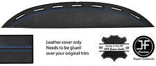 Top Stitch Blu Vent Cover in Pelle Dashboard Dash si adatta FERRARI TESTAROSSA 84-91