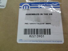Jeep Trail Rate OEM Off Road Emergency Kit 82213901