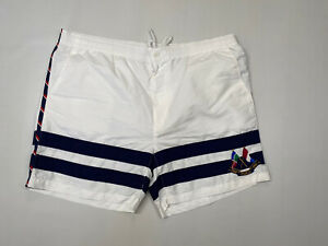 RALPH LAUREN Swim Shorts - XXL - White - Great Condition - Men's