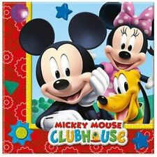 Decoración y menaje color principal multicolor de papel para mesas de fiesta de Mickey Mouse