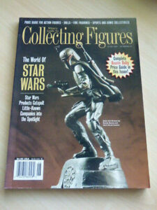 White's Guide to Collecting Figures Magazine #30 1997 Star Wars Beanie Baby