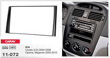 CARAV 11-072 2Din Marco Adaptador Kit de radio para KIA Cerato, Optima, Magentis