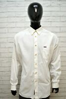 Camicia Bianca Uomo MARLBORO CLASSICS Maglia Taglia 3XL Shirt Man Manica Lunga