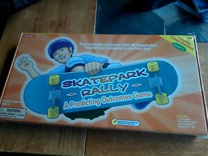 Lakeshore Learning Game SKATEPARK RALLY  LVL 1 NEW SEALED READING COMPREHENSION