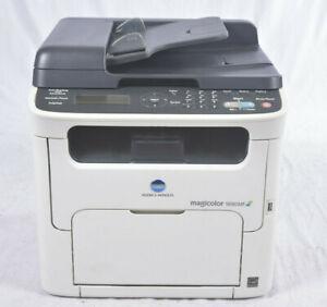 Konica Minolta Magicolor 1690MF 4in1 Laser Drucker Scanner Fax Kopierer LAN USB