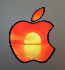 GLOWING SUNSET OVER WATER Apple MacBook Pro Air Mac Laptop Logo DECAL 11-17inch