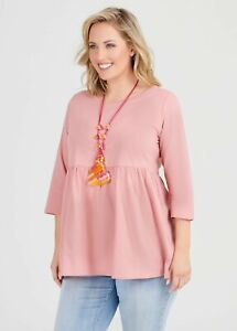 ts Taking Shape Virtuelle Top Size S Organic Tiered Style NWT