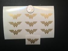 (10) Wonder Woman Vinyl Decal Stickers Window Car Truck Laptop Yeti Jeep DC