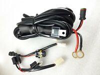 Plug and Play High Beam Driving Light Wiring Harness Kit LED bar Loom HEAVY DUTY