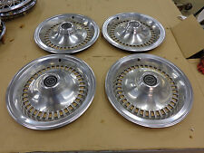 FORD OEM 77 78 79 Thunderbird T Bird  Wheel Cover Hub Cap set of 4