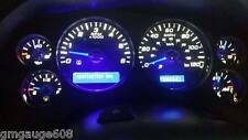 Speedo Cluster Gauge White LED Kit 08 09 10 11 12 13 Silverado Sierra Tahoe DIY