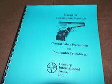MAKAROV, Manual, 9X18, Semi-automatic,  R-61, PA-63, M-74, AP9, 8 Pages