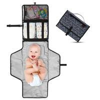 Kids Newborns Foldable Waterproof Baby Diaper Changing Mat Portable Changing Pad