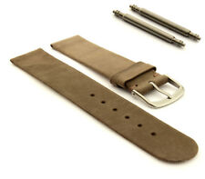 Suede Genuine Leather Watch Strap Band Malaga 12mm 14mm 16mm 18mm 20mm 22mm