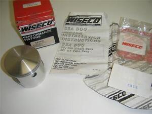 88 96 SEADOO 580 587 SP SPI GT GTS GTX XP + 1.5 .060 77.5 mm WISECO PISTON 587P6