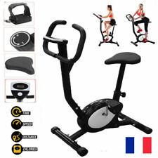 Vélo d'appartement LCD Elliptique Ergomètre Fitness Cardio Gym Max 120kg