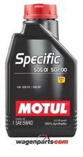 Aceite Motul Specific VW Audi Seat Skoda 50501 50200 50500 5W40,1 litro