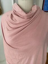 Dusty Pink Rayon Spandex Knit Viscose Fabric sewing quilting clothing 2 Yards