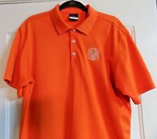 Nike Golf Shirt Avo Cigar Logo Polo Dri-Fit M Medium Golfing Golfer Sport Shirt