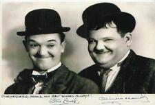 Oliver Hardy-Stan Laurel ++Autogramm++ ++Dick + Doof++